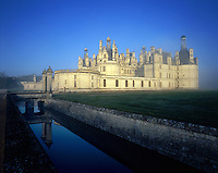AA00392-01...FRANCE - Chateau de Chambord is the largest of the Loire Valley chateaus.