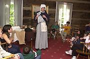 15355River Valley Community School Students visiting Visitor's Center: Judge Cutler visit & workshops