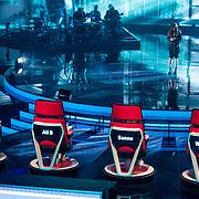 NLD/Hilversum/20180209 - 3e Liveshows The voice of Holland 2018, Nienke Wijnhoven