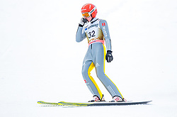 23.03.2018, Planica, Ratece, SLO, FIS Weltcup Ski Sprung, Planica, Skiflug, Einzelbewerb, Finale, im Bild Richard Freitag (GER) // Richard Freitag of Germany during the Ski Flying Hill individual competition of the FIS Ski Jumping World Cup Final 2018 at Planica in Ratece, Slovenia on 2018/03/23. EXPA Pictures © 2018, PhotoCredit: EXPA/ JFK