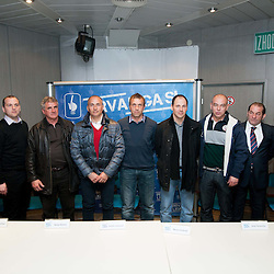 20120229: SLO, Football - Press conferences of coaches of 1st Slovenian League PrvaLiga