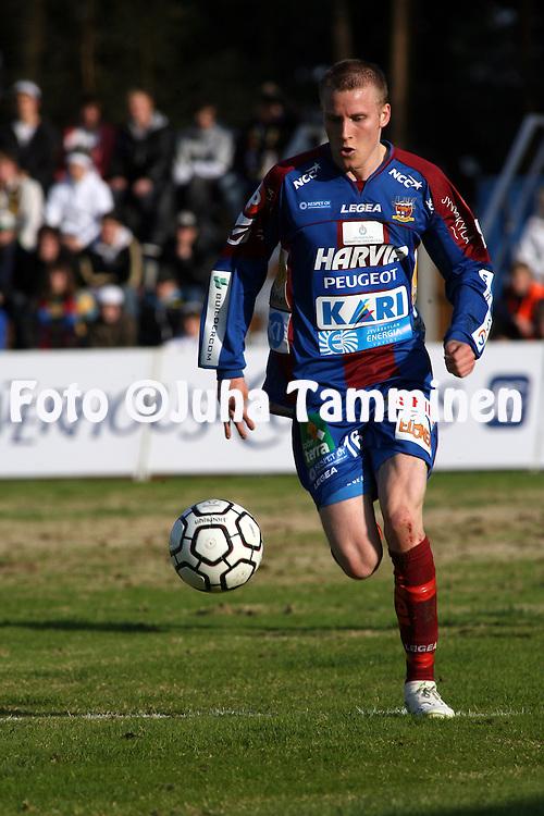 07.05.2009, Harjun Stadion, Jyv?skyl?, Finland..Veikkausliiga 2009 - Finnish League 2009.JJK Jyv?skyl? - FC Haka Valkeakoski .Niko Markkula - JJK.©Juha Tamminen.