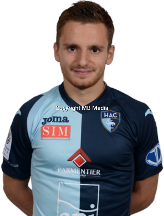 SALLES LAMONGE Sebastien during photocall of Le Havre AC for new season of Ligue 2 on September 29th 2016<br /> Photo : Lelaidier / Hac / Icon Sport