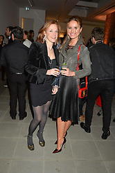 Left to right, JULIET ROWE and MAGDALENA GABRIEL at the Future Contemporaries Party in association with Coach at The Serpentine Sackler Gallery, West Carriage Drive, Kensington Gardens, London on 21st February 2015.