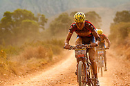 GREYTON, SOUTH AFRICA - David George and Kevin Evans retained their African leaders jersey during stage four of the Absa Cape Epic Mountain Bike Stage Race held in Greyton on the 25 March 2009 in the Western Cape, South Africa..Photo by Sven Martin /SPORTZPICS