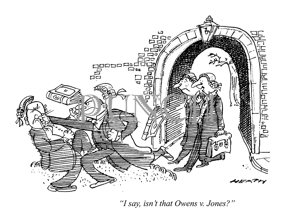 """I say, isn't that Owens v. Jones."""