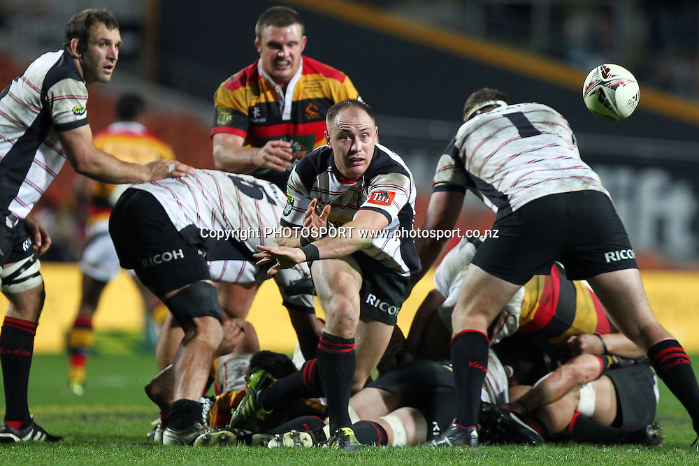 Canterbury's Willi Heinz in action. ITM Cup Final, Waikato v Canterbury at Waikato Stadium, Hamilton, New Zealand. Saturday 3rd September 2011. Photo: Anthony Au-Yeung / photosport.co.nz