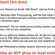 Miracle on South 13th