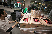 NEW YORK - MARCH 30:  City Harvest Skip Lunch Fight Hunger at Citibank on March 30, 2017 in New York City. (Photo by Ben Hider)
