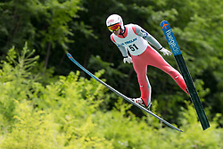 Stefan Huber from Austria during Ski Jumping Continental Cup Kranj 2018, on July 8, 2018 in Kranj, Slovenia. Photo by Urban Urbanc / Sportida