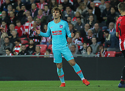 March 16, 2019 - Bilbao, Vizcaya, Spain - Griezmann of lamenting during La Liga Spanish championship, , football match between Athletic de Bilbao and Atletico de Madrid, March 16th, in Nuevo San Mames Stadium in Bilbao, Spain. (Credit Image: © AFP7 via ZUMA Wire)