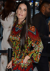 NEW YORK, NY - AUGUST 8: Demi Moore attends 'Good Time' New York Premiere at SVA Theater on August 8, 2017 in New York City...People:  Demi Moore. (Credit Image: © SMG via ZUMA Wire)