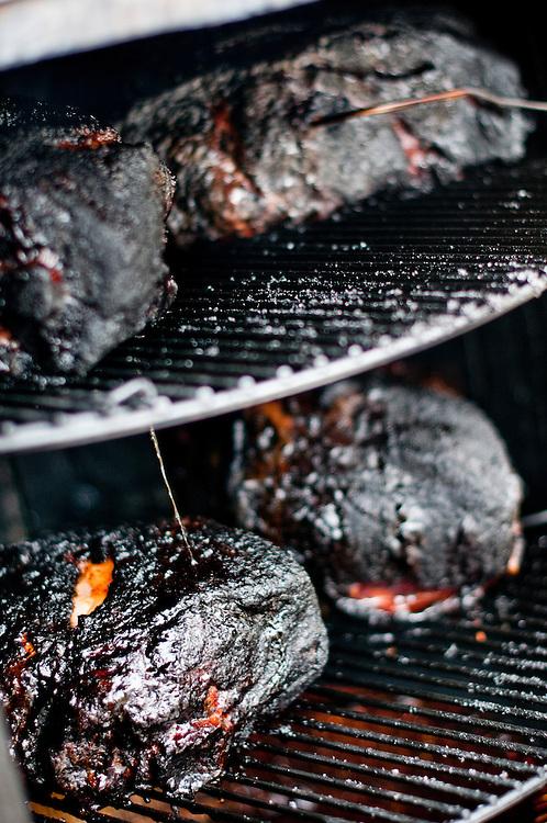 Jack Daniels Invitational Barbecue 2012 - The Jack. .Pork butt (Boston Butt) .Photographer: Chris Maluszynski /MOMENT