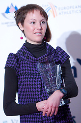 Mateja Kosovelj at Best Slovenian athlete of the year ceremony, on November 15, 2008 in Hotel Lev, Ljubljana, Slovenia. (Photo by Vid Ponikvar / Sportida)