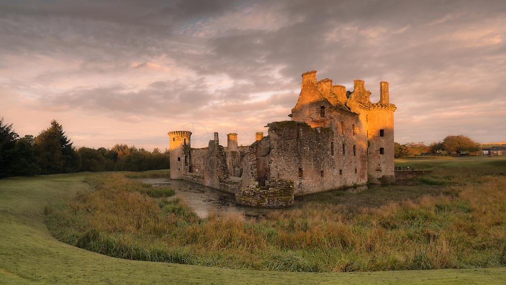 Dumfries and Galloway commission for Visit Scotland Caerlaverock Castle