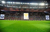 Animation  avant match  - 11.04.2015 -  Bastia / PSG - Finale de la Coupe de la Ligue 2015<br />Photo : Dave Winter / Icon Sport