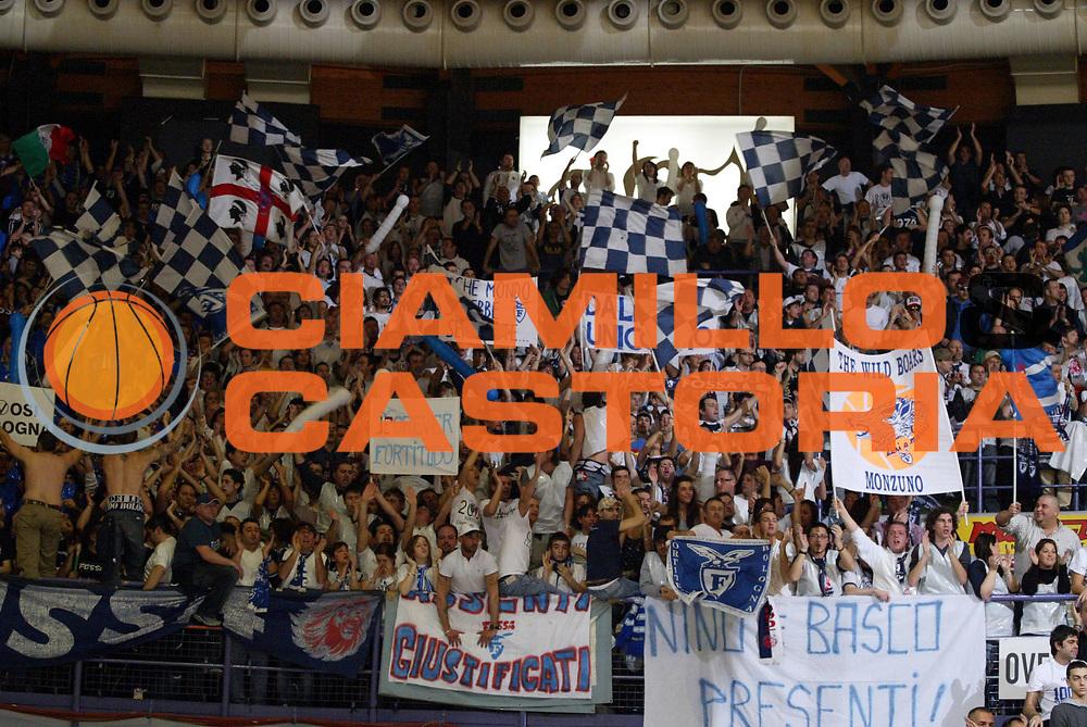 DESCRIZIONE : Bologna Lega A1 2007-08 La Fortezza Virtus Bologna Upim Fortitudo Bologna <br /> GIOCATORE : Tifosi <br /> SQUADRA : Upim Fortitudo Bologna <br /> EVENTO : Campionato Lega A1 2007-2008 <br /> GARA : La Fortezza Virtus Bologna Upim Fortitudo Bologna <br /> DATA : 02/03/2008 <br /> CATEGORIA : <br /> SPORT : Pallacanestro <br /> AUTORE : Agenzia Ciamillo-Castoria/L.Villani