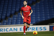 Leyton Orient defender Callum Kennedy (3) during the EFL Trophy Southern Group G match between U23 Brighton and Hove Albion and Leyton Orient at the American Express Community Stadium, Brighton and Hove, England on 8 November 2016.