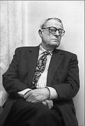 Nederland, Nijmegen, 2-3-1995W.F., Willem Frederik Hermansauteur, schrijver enkele weken voor zijn doodFoto: Flip Franssen/ Hollandse Hoogte