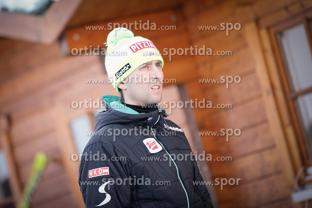 14.12.2012, Nordische Arena, Ramsau, AUT, FIS Nordische Kombination Weltcup, Gundersen, Skisprung, im Bild Stecher Mario (AUT) during Ski Jumping of FIS Nordic Combined World Cup, Gundersen at the Nordic Arena in Ramsau, Austria on 2012/12/14. EXPA Pictures © 2012, EXPA/ Federico Modica