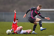 Mateusz Bogusz of Leeds United Under 23's during the U23 Professional Development League match between Barnsley and Leeds United at Oakwell, Barnsley, England on 9 March 2020.
