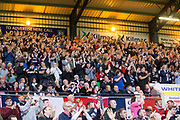 August 9th 2017, Dens Park, Dundee, Scotland; Scottish League Cup Second Round; Dundee versus Dundee United; Dundee fans
