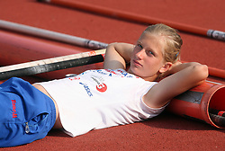 Tina Sutej at Athletic National Championship of Slovenia, on July 19, 2008, in Stadium Poljane, Maribor, Slovenia. (Photo by Vid Ponikvar / Sportal Images).