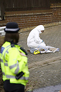 Police launch a murder inquiry after a 21-year-old Wellingborough man is killed in Kettering, Northamptonshire on Monday 16th february 2009.<br /> Police say a 21-year-old was pronounced dead at Kettering General Hospital following an incident in Union Street, Kettering, just before 1pm.<br /> <br /> Three men are arrested in connection with the incident and police were due to step up patrols in Kettering and Wellingborough on Monday night.