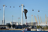 London: Jetpack flight, 5 Oct. 2016