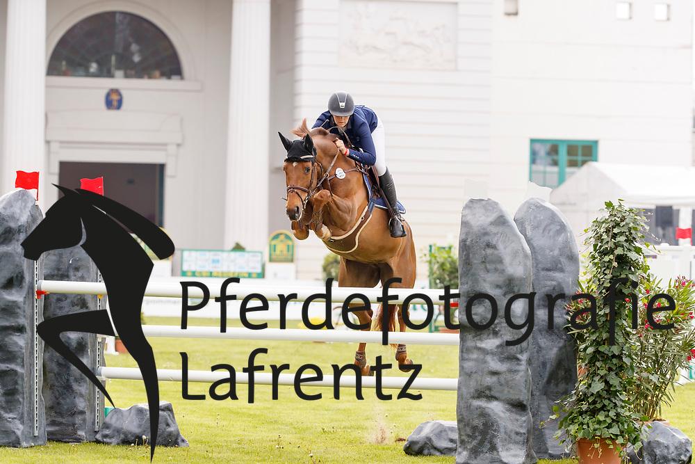 Martinsen, Karin (SWE), Jarta<br /> Redefin - Pferdefestival 2017<br /> © Stefan Lafrentz