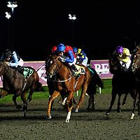 Gower Princess and Luke Morris winning the 5.10 race