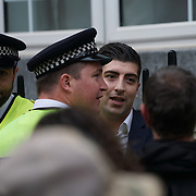 London,England,UK : 15th July 2016 : Fights and scuffles break out close to Boris Johnson's London home Video by See Li/Picture Capital | UK | News | Daily Express http://www.express.co.uk/news/uk/690584/boris-johnson-house-fight-london <br /> Picture Capital<br /> http://www.picturecapital.com<br /> . Photo by See Li