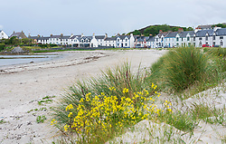 View of Port Ellen on Islay in Inner Hebrides , Scotland, UK