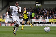 Fulham striker Sheyi Ojo (19) during the EFL Sky Bet Championship match between Burton Albion and Fulham at the Pirelli Stadium, Burton upon Trent, England on 16 September 2017. Photo by Richard Holmes.