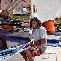 Nathaniel Macfarlane in Aruba Hi Winds 2012. Aruba Island, July 3-July 9, 2012. International Competition windsurfing and kite surfing. Jimmy Villalta & Valentina Calatrava