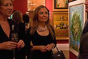 MARIE-CLAIRE BARONESS VON ALVENSLEBEN; PRINCESS AL SABAH; Preview of Greek Sale sponsored by Citibank. Sotheby's. New Bond st. London. 10 November 2008 *** Local Caption *** -DO NOT ARCHIVE -Copyright Photograph by Dafydd Jones. 248 Clapham Rd. London SW9 0PZ. Tel 0207 820 0771. www.dafjones.com