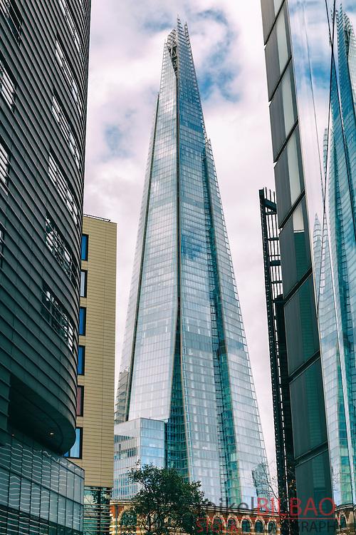 The Shard skyscraper. London, United Kingdom, Europe