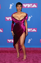 August 21, 2018 - New York City, New York, USA - 8/20/18.Cardi B at the 2018 MTV Video Music Awards held at Radio City Music Hall in New York City..(NYC) (Credit Image: © Starmax/Newscom via ZUMA Press)