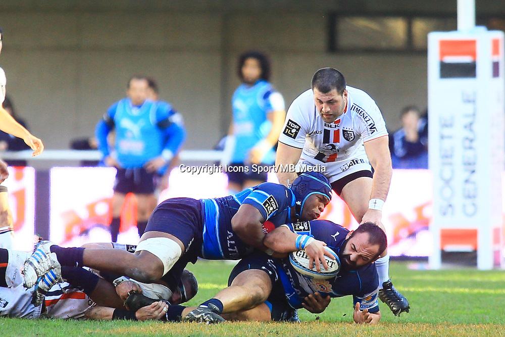 Mikheil NARIASHVILI - 20.12.2014 - Montpellier / Stade Toulousain - 13eme journee de Top 14 -<br /> Photo : Nicolas Guyonnet / Icon Sport