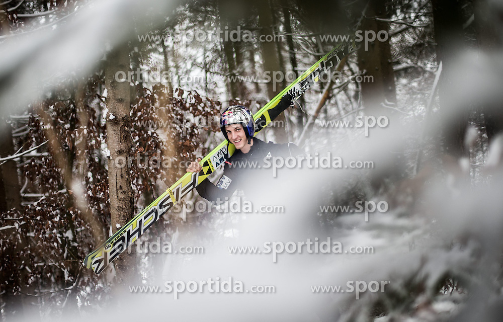 05.01.2015, Paul Ausserleitner Schanze, Bischofshofen, AUT, FIS Ski Sprung Weltcup, 63. Vierschanzentournee, Training, im Bild Gregor Schlierenzauer (AUT) // during Training of 63rd Four Hills <br /> Tournament of FIS Ski Jumping World Cup at the Paul Ausserleitner Schanze, Bischofshofen, Austria on 2015/01/05. EXPA Pictures &copy; 2015, PhotoCredit: EXPA/ JFK