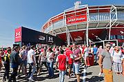 ALKMAAR - 09-08-2015, AZ - Ajax, AFAS Stadion.