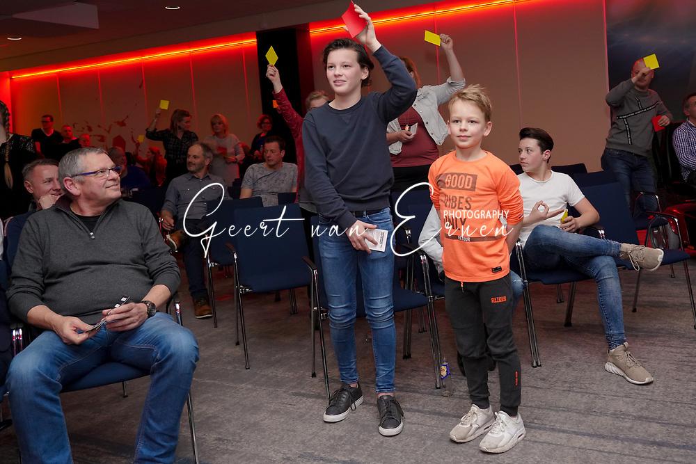 FC DE REBELLEN - Willem II stadion<br /> Frank Demouge, Arno Arts, Jimmy van Fessem, Marcel Meeuwis, Oud scheidsrechter Roelof Luinge en presentator Koert Westerman<br /> <br /> Foto: Jan Gabriels fotografie