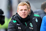 Hibernian manager Neil Lennon ahead of the William Hill Scottish Cup 4th round match between Heart of Midlothian and Hibernian at Tynecastle Stadium, Gorgie, Scotland on 21 January 2018. Photo by Craig Doyle.