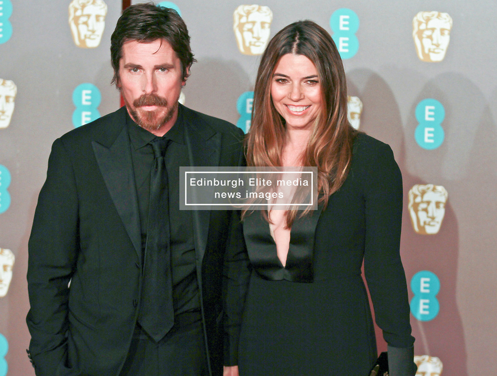 Christian Bale on the red carpet ahead of the 2019 British Academy Film Awards at the Royal Albert Hall in London, England on 10th Feburary 2019. ©Ben Booth/Edinburgh Elite media