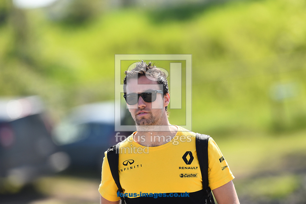 Jolyon Palmer of Renault Sport during the practice session of the Canadian Formula One Grand Prix at the Circuit Gilles Villeneuve, Montreal<br /> Picture by EXPA Pictures/Focus Images Ltd 07814482222<br /> 09/06/2017<br /> *** UK &amp; IRELAND ONLY ***<br /> <br /> EXPA-EIB-170609-0314.jpg