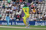 Alex Carey batting during the ICC Cricket World Cup 2019 warm up match between England and Australia at the Ageas Bowl, Southampton, United Kingdom on 25 May 2019.