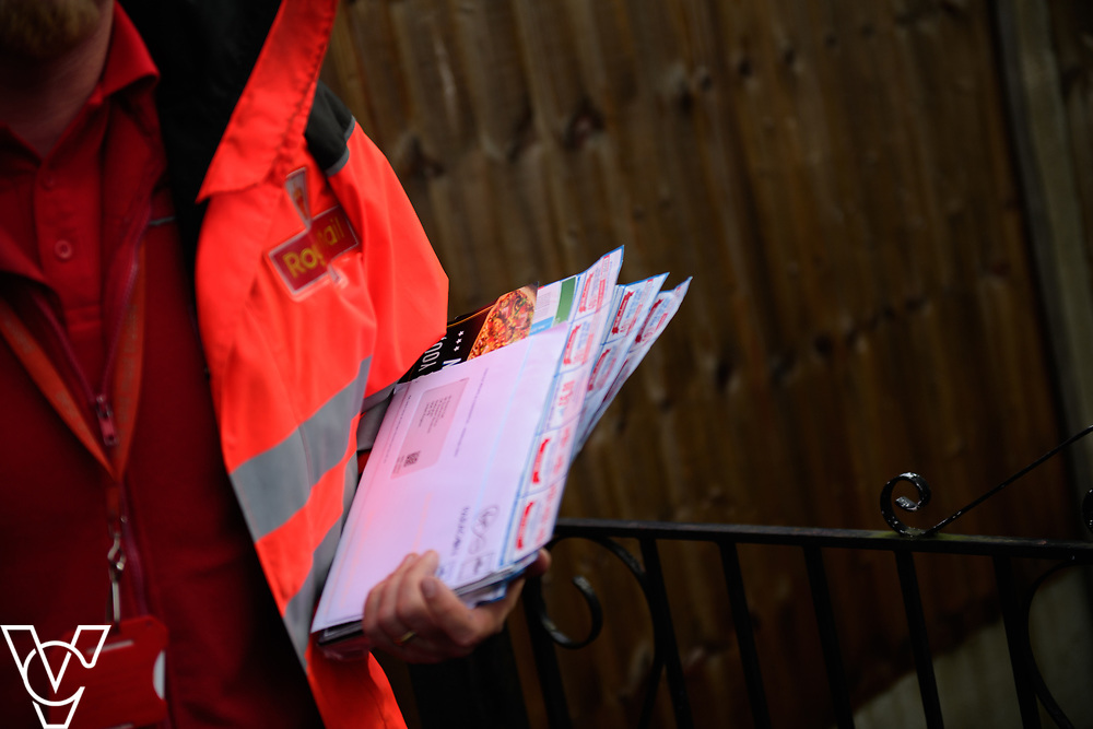 Royal Mail stock photography taken on delivery in Nottingham.<br /> <br /> Date: March 29, 2017<br /> Picture: Chris Vaughan Photography