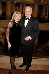 MARTIN LEWIS and PATSY BAKER at a Gala dinner in aid of Chickenshed held at the Guildhall, City of London on 29th October 2007.<br />