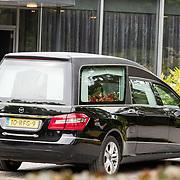 NLD/Bilthoven/20170706 - Uitvaart Ton de Leeuwe, ex partner Anita Meyer, rouwauto
