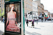 Commercial photography In Glasgow, Scotland for Clear Channel outdoor advertising - The Great Gatsby